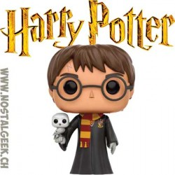 Funko Pop Harry Potter (Robes and Hedwig) Exclusive Vinyl Figure