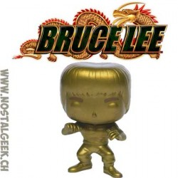 Funko Pop Movies Bruce Lee (Enter the Dragon) (Gold) Exclusive Vinyl Figure