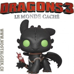 Funko Pop! How to Train Your Dragon Toothless Racing Stripes Edition Limitée