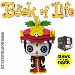Funko Pop The Book Of Life (La Légende de Manolo) La Muerte Phosphorescent Edition Limitée Vaulted