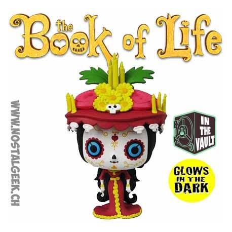 Funko Pop The Book Of Life (La Légende de Manolo) La Muerte Phosphorescent Edition Limitée