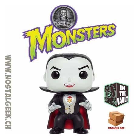 Funko Pop! Movies Universal Studio Monsters Dracula Boîte abîmée