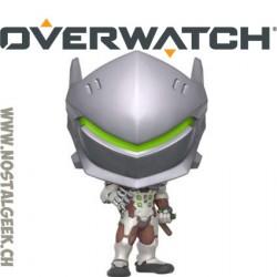 Funko Pop! Jeux Vidéos Games Overwatch Genji (Carbon Fiber) Edition Limitée