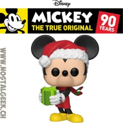 Funko Pop Disney Mickey's 90th Holiday Mickey Vinyl Figure