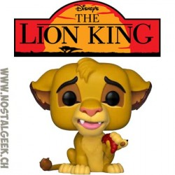 Pop Disney The Lion King Simba Leaf Mane Vinyl Figure