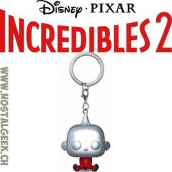 Funko Pop Pocket Incredibles 2 Jack Jack metallic Vinyl Figure keychain