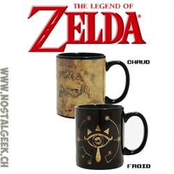 The Legend of Zelda Sheikah Eye Heat Changing Ceramic Coffee Mug 10oz