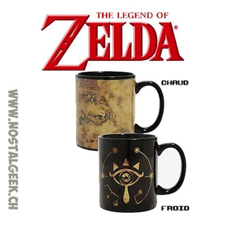 The Legend of Zelda Sheikah Eye Heat Changing Ceramic Coffee Mug 10oz