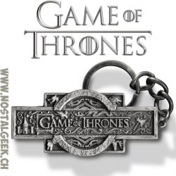 Game of Thrones Keychain TV Series Die-Cast Logo
