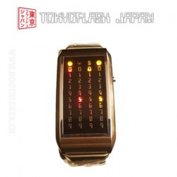 TokyoFlash Pimp Star Silver Led Mix Watch