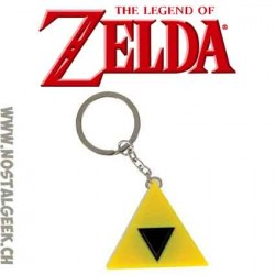The Legend of Zelda Triforce LED keyring