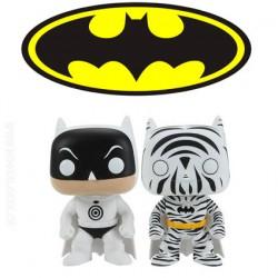 Funko Pop DC Zebra and Bullseye Batman 2 Pack Edition limitée