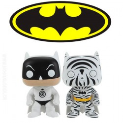 Funko Pop DC Zebra and Bullseye Batman 2 Pack Limited edition