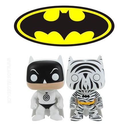 Funko Pop DC Zebra and Bullseye Batman 2 Pack Limited edition