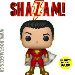 Funko Pop DC Heroes Shazam (2019 Movie) (Glow in the Dark) Exclusive Vinyl Figure