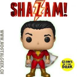 Funko Pop DC Heroes Shazam (2019 Movie) (Glow in the Dark) Exclusive Vinyl Figure