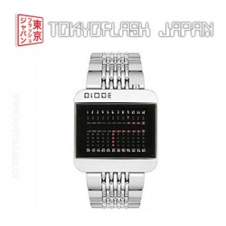 TokyoFlash Diode Stainless Steel Watch