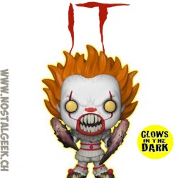 Funko Pop! Movie IT Pennywise (Gripsou) with Spider Legs Phosphorescent Edition Limitée