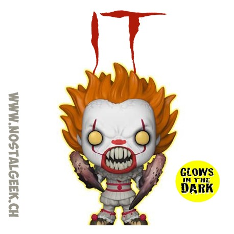 Funko Pop! Movie IT Pennywise (Gripsou) with Spider Legs GITD Vinyl Figure