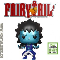 Funko Pop ECCC 2019 Fairy Tail Gajeel (Dragon Force) Edition Limitée