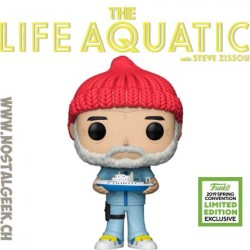 Funko Pop ECCC 2019 The Life Aquatic Steve Edition Limitée
