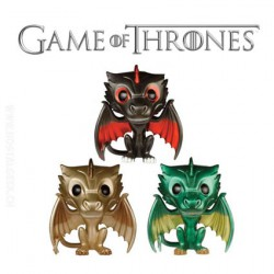 Pop Game of Thrones Metallic Dragons Pack Limited Edition