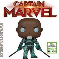 Funko Pop ECCC 2019 Captain Marvel Korath Edition Limitée