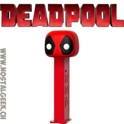 Funko Pop Pez Marvel Deadpool Bonbon et Distributeur