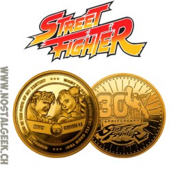 Street Fighter 30th Anniversary Collectors Coin: Gold Variant (Limitée à 1000)