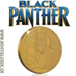 Marvel's Black Panther Collector's Limited Edition Coin: Antique Gold (Limited to 1000)