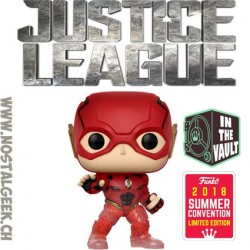 Funko Pop DC SDCC 2018 Justice League Flash (Running) Edition Limitée