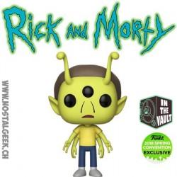 Funko Pop ECC 2018 Rick et Morty - Alien Morty Edition Limitée