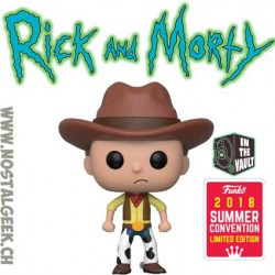 Funko Pop Rick And Morty SDCC 2018 Western Rick Edition Limitée