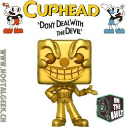 Funko Pop Games Cuphead King Dice (Gold) Edition Limitée