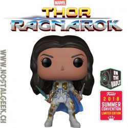 Funko Pop Marvel SDCC 2018 Thor Ragnarok Valkyrie (Battle Outfit) Exclusive Vinyl Figure