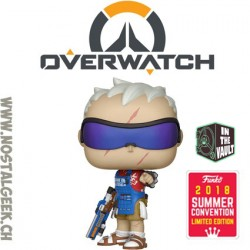 Funko Pop Games SDCC 2018 Overwatch Soldier:76 (Grillmaster) Exclusive Vinyl Figure