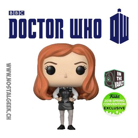 Funko Pop ECC 2018 TV Doctor Who Amy Pond Exclusive Vinyl Figure