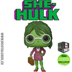 Funko Pop ECC 2018 Marvel She-Hulk Lawyer Limited Edition