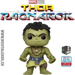 Funko Pop NYCC 2017 Thor Ragnarok Casual Hulk Edition limitée