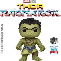 Funko Pop NYCC 2017 Thor Ragnarok Casual Hulk Limited Vinyl Figure