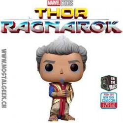 Funko Pop NYCC 2017 Marvel Thor Ragnarok Grandmaster Edition Limitée