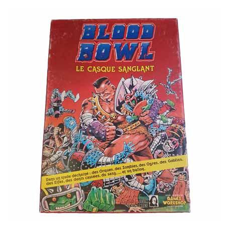 Warhammer Blood Bowl - Le casque Sanglant - Games Workshop Descartes 1986 Board Game