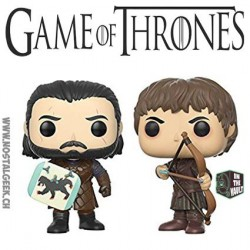 Funko Pop! TV Game of Thrones Jon Snow et Ramsey Bolton: Battle of The Bastards 2-pack