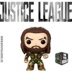 Funko Pop! DC Justice League SDCC 2017 Justice League Aquaman with Mother Box Edition Limitée