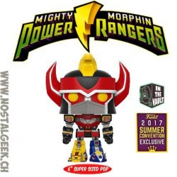 Funko Pop! SDCC 2017 Power Rangers Megazord 15cm Edition Limitée