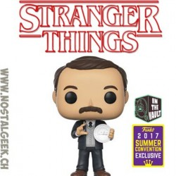 Funko Pop SDCC 2017 Stranger Things Mr Clarke Edition Limitée
