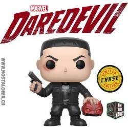 Funko Pop! Marvel Daredevil : Punisher Chase Edition Limitée