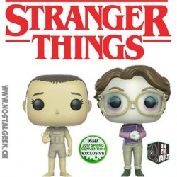 Funko Pop ECCC 2017 Stranger Things Upside Down Eleven & Barb Limited Vinyl Figure