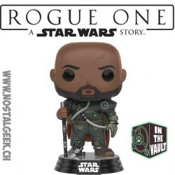 Funko Pop! Star Wars Rogue One Saw Gerrera Edition Limitée