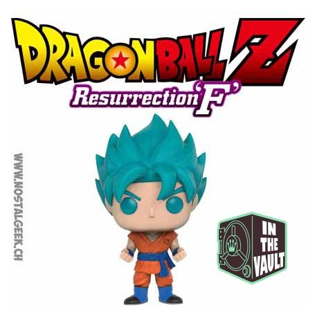 Funko Pop! Animation Dragon Ball Z Super Saiyan God Super Saiyan Goku Exclusive Vinyl Figure